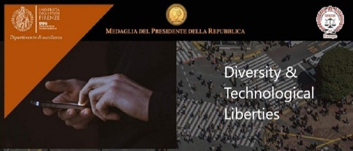 Diversity & Technological Liberties - Webinar organized by Prof. Ettore Lombardi of the University of Florence